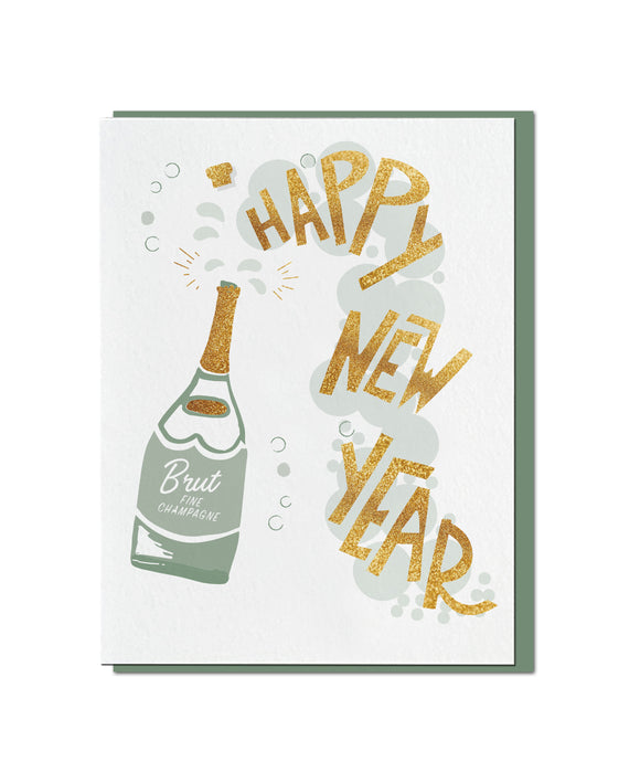 Bubbly New Year (Foil)