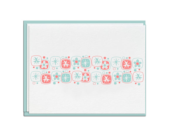 Mod Flowers Stationery