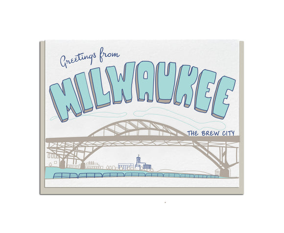 Greetings from Milwaukee