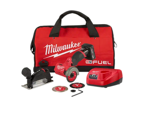 MILWAUKEE M12 FUEL™ 3 inch Compact Cut Off Tool - Kit