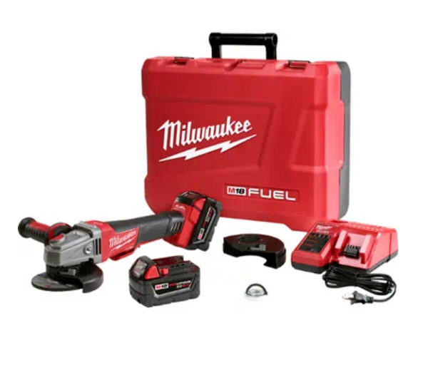MILWAUKEE | M18 FUEL™ 4-1/2 inch / 5 inch Braking Grinder Kit