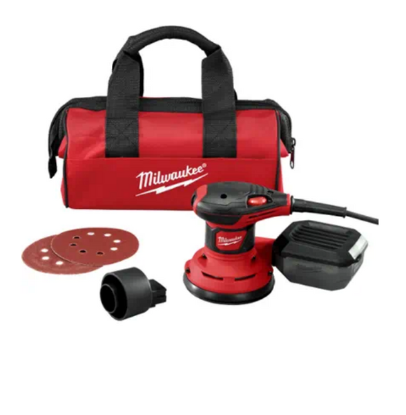 MILWAUKEE | 5 in Random Orbit Palm Sander (Corded)