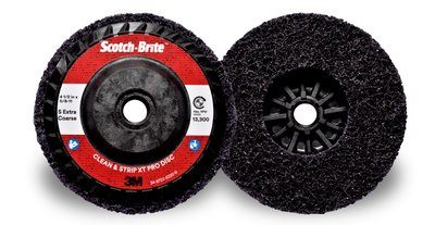 Scotch-Brite™ Clean and Strip XT Pro Disc | 4-1/2 inch x 5/8 in-11 SXCS | T27 Quick Change, 10 per box
