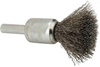 *CLOSEOUT* Weiler 10013 | 1/2 inch Wire End Brush, 1/4 in shank (each)