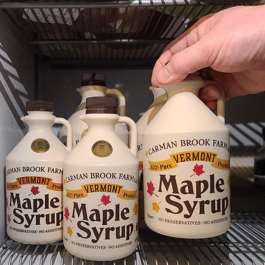 How to store maple syrup? It's best in the refrigerator after opening.