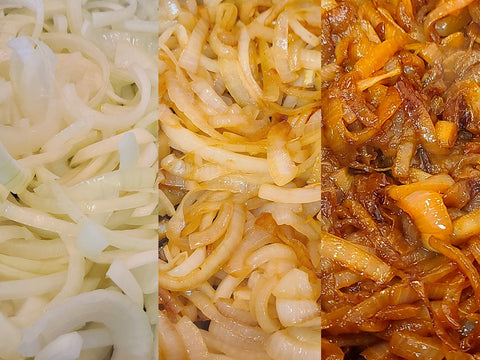 How long to cook carmelized onions.