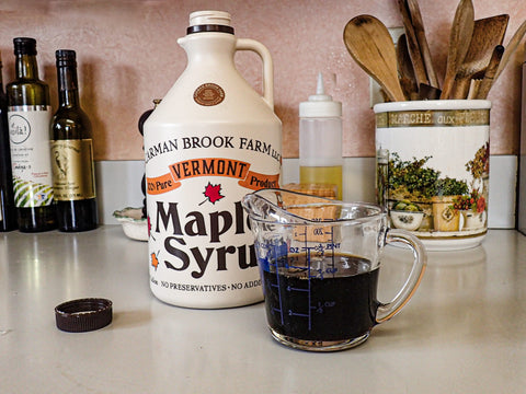 Best grade b syrup for maple pork dish.