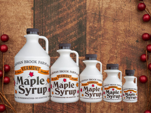 The best deal forthe best maple syrup from Vermont is in plastic jugs.