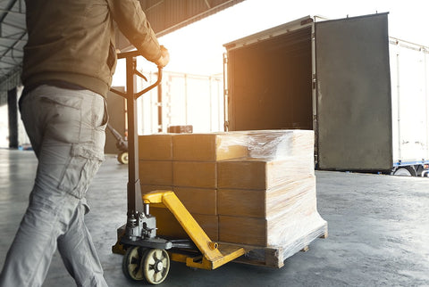 Your large orders of party favors can be shipped freight, when it best suits your needs.