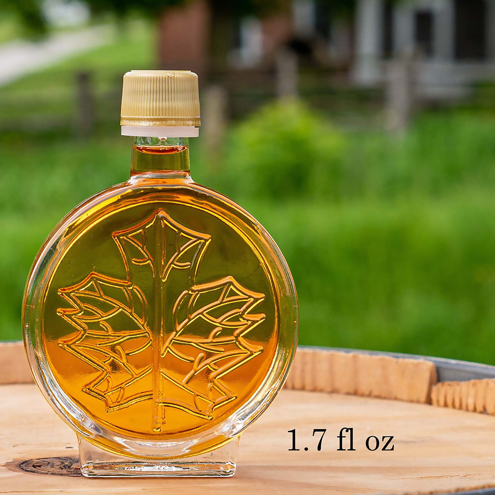 The smalles 3D maple syrup bottle.