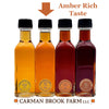 Amber Rich Taste maple syrup grade.