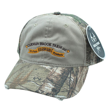 Carman Brook Farm camo hat.