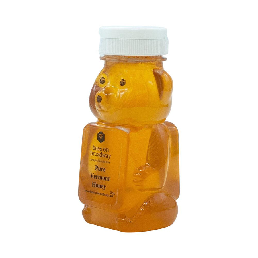 Bees on Broadway 8 oz honey bear
