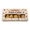 One pound of boxed maple candy leaves.