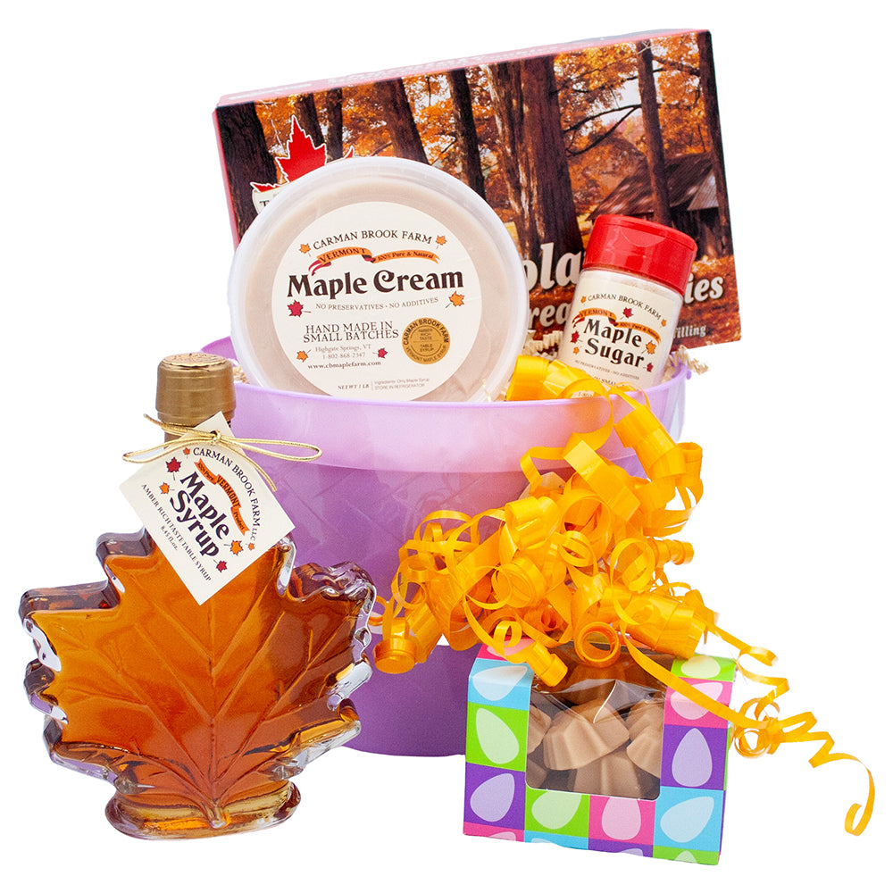 Happy Easter basket filled with your favorite Easter goodies.