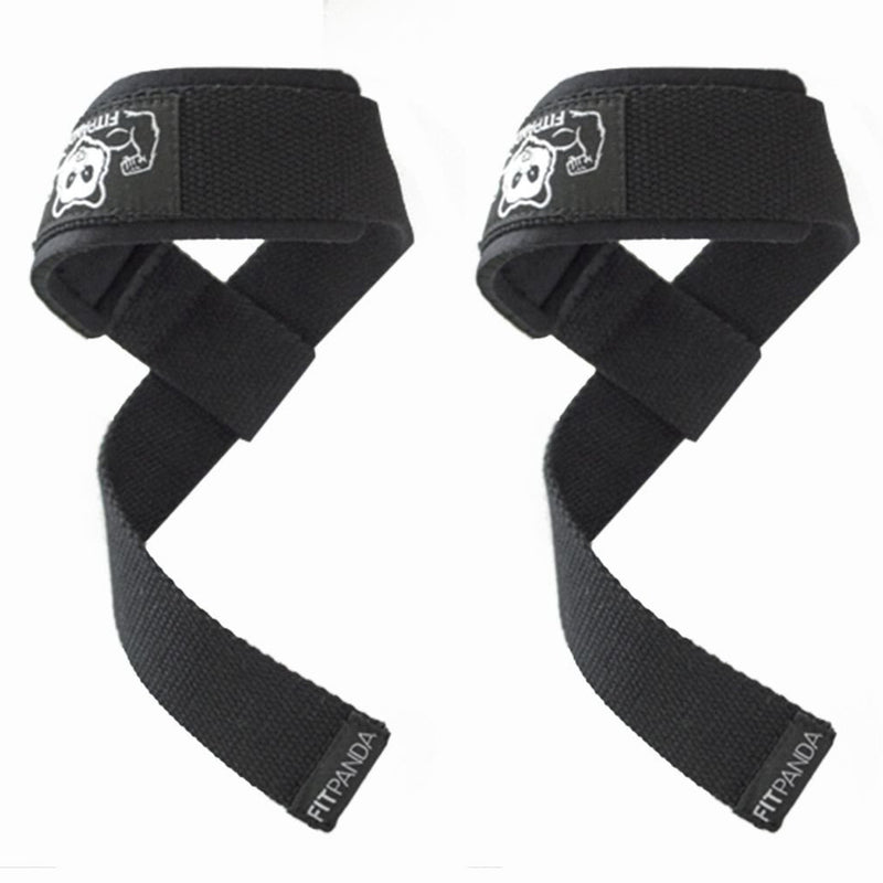 FitPanda Power Grip Lifting Straps - NSD Spinner