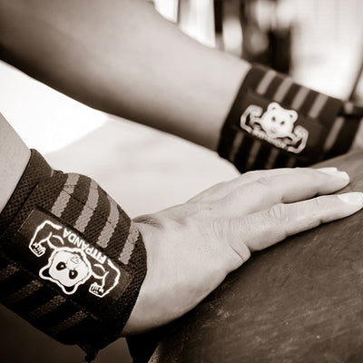 FitPanda Power Wrist Wraps