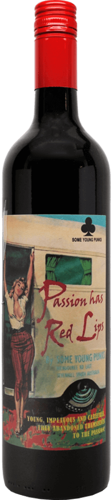 Some Young Punks 'Passion Has Red Lips' Shiraz Cabernet 2017