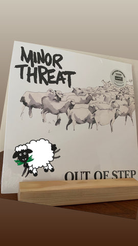 "MINOR THREAT - Out of Step 12"" LP (NEW/SEALED) W/ Download"