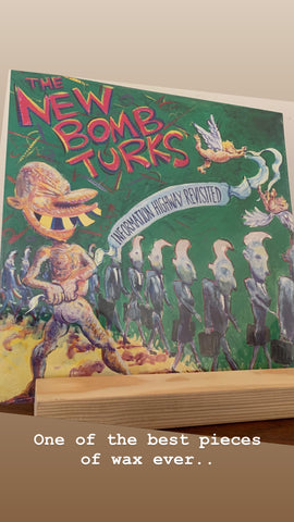 "The New Bomb Turks ‎– Information Highway Revisited 12"" LP (New/Sealed)"