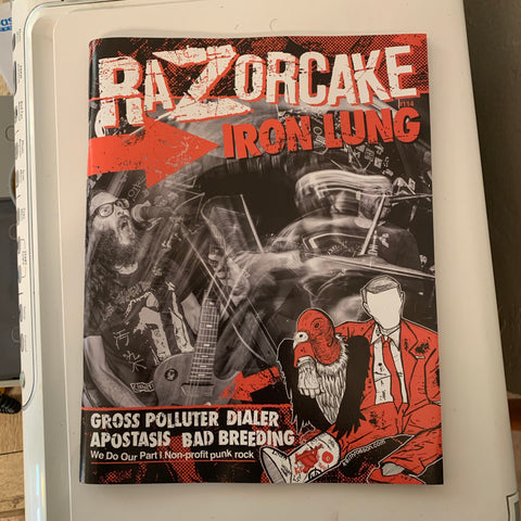 RAZORCAKE Issue #114 GROSS POLLUTER/SMOGTOWN FEATURE