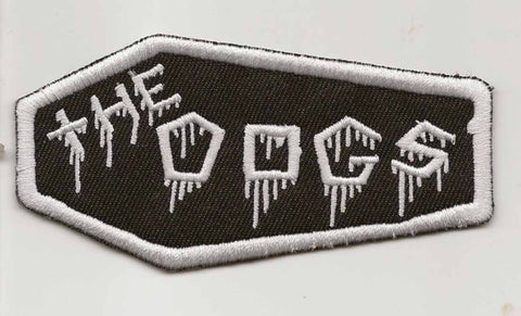 The DOGS  Coffin Logo- Embroidered Patch