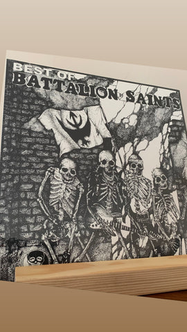 "Battalion Of Saints ‎– The Best Of (Mystic) 12"" LP (New/Sealed)"