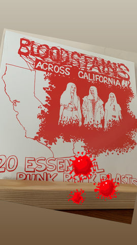 "Various Artists ‎– Bloodstains Across California - 12"" LP Compilation (NEW/Sealed)"