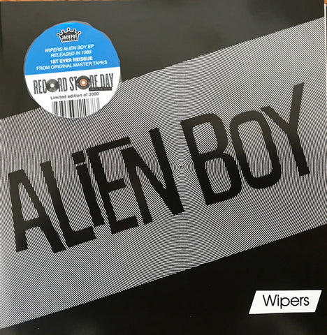 "Wipers ‎– Alien Boy 7"" RSD  Record Store Day special press. Limited Edition. Jackpot Records"