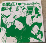 "AUDACITY / Thee MAKEOUT PARTY split 7"" Limited Edition"