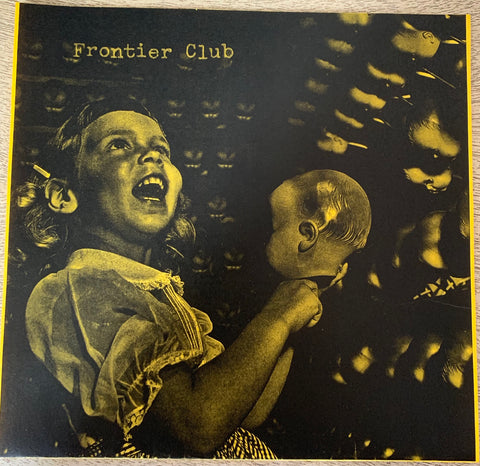 "FRONTIER CLUB ""Speaking in Cursive"" LIMITED EDITION 7"" WEB-STORE ONLY// YELLOW"