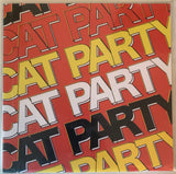 "CAT PARTY ""Jigsaw Thoughts"" 7"" Record RED COVER 1/100 Post Punk"