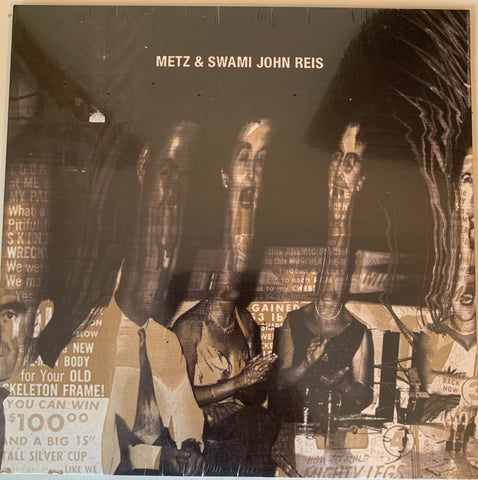 "METZ & SWAMI JOHN REIS ""Let it Rust"" 7"" record. RFTC Hot Snakes"