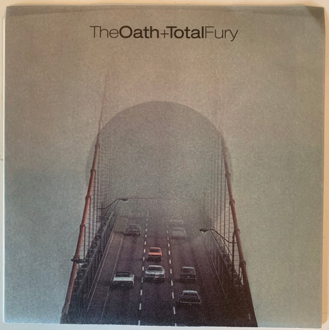 "The OATH/ TOTAL FURY ""split"" CLEAR etched Vinyl"