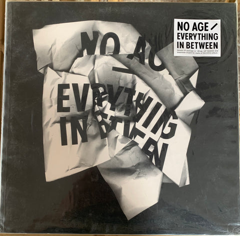 "NO AGE -""Everything In Between"" Delux LP w/ Booklet (Autographed)"