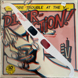 "THE DISTRACTION ""More Trouble At The V!"" 12"" S/Sided EP (Le Shok)"