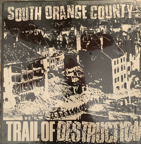 "S. OC's ""TRAIL OF DESRTUCTION"" LP Comp. (Pre-Stitches, Negatives, Scarred for Life)"