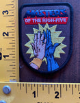 MASTERS of the High Five MOTU He-Man embroidered patech