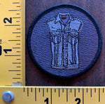 jean jacket vest embroidered patch (new)