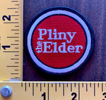PLINY the ELDER embroidered patch Russian River Brewery NOS