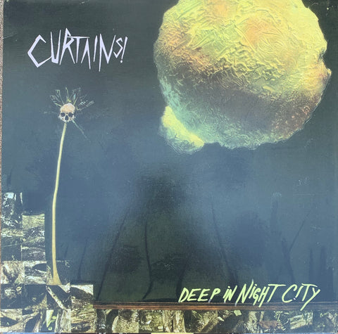 "Curtains! ‎– Deep In Night City 12"" LP"