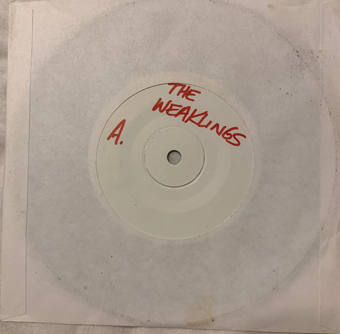 "THE WEAKLINGS ""Motorvatin'"" JUNK records  TEST PRESS"