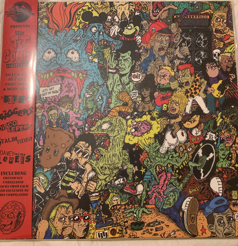 NFT No Front Teeth Records presents the JET COMIX COLLECTION LP