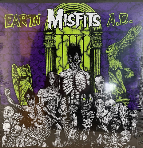 "THE MISFITS / Earth A.D. 12"" LP (NEW/Sealed)"