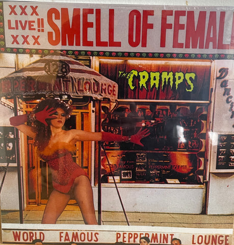THE CRAMPS / Smell of Female LP (NEW/Sealed)