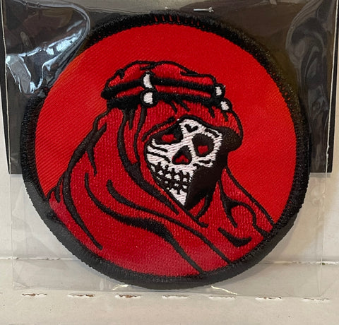 RED RIDER embroidered patch 3""