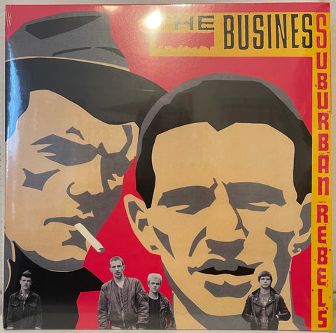 The BUSINESS - Suburban Rebels RE Gatefold LP (NEW/Sealed)