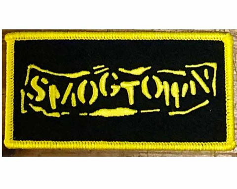 SMOGTOWN Embroidered Logo Iron On  Patch