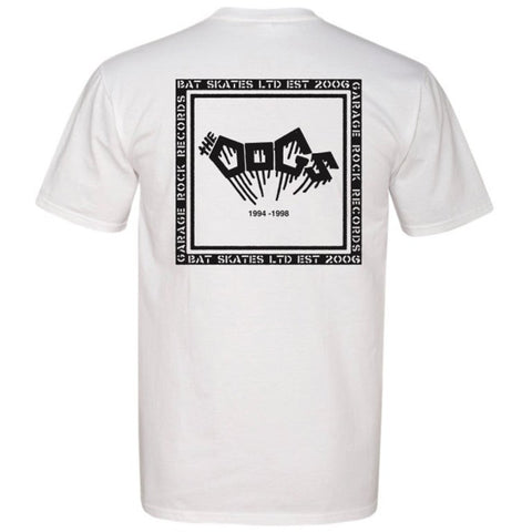 The DOGS  Batskates / Garagerock Collab POCKET Tee Shirt
