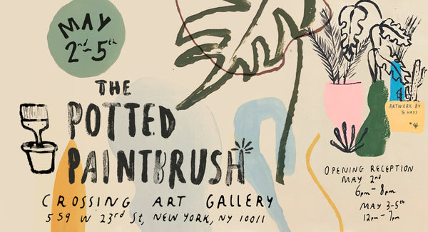 The Potted Paintbrush - Chelsea, New York | Crossing Art Gallery
